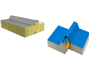 Rockwool Sandwich Panels PK Pu Edge Rockwool Sandwich Panels
