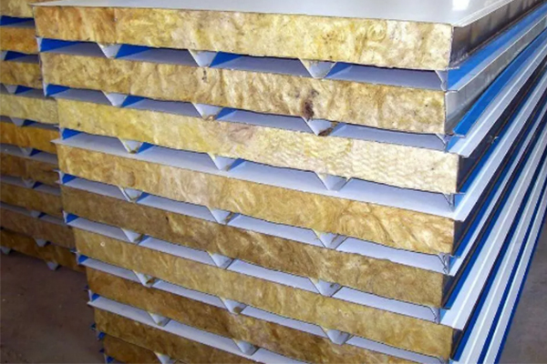 rock wool sandwich panel 2