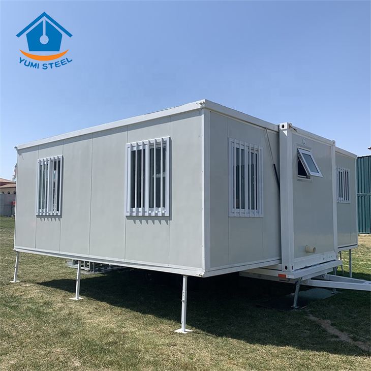 20FT Modern Mobile Flat Packed Foldable Container House for Living/Office/Dormitory/Hotels