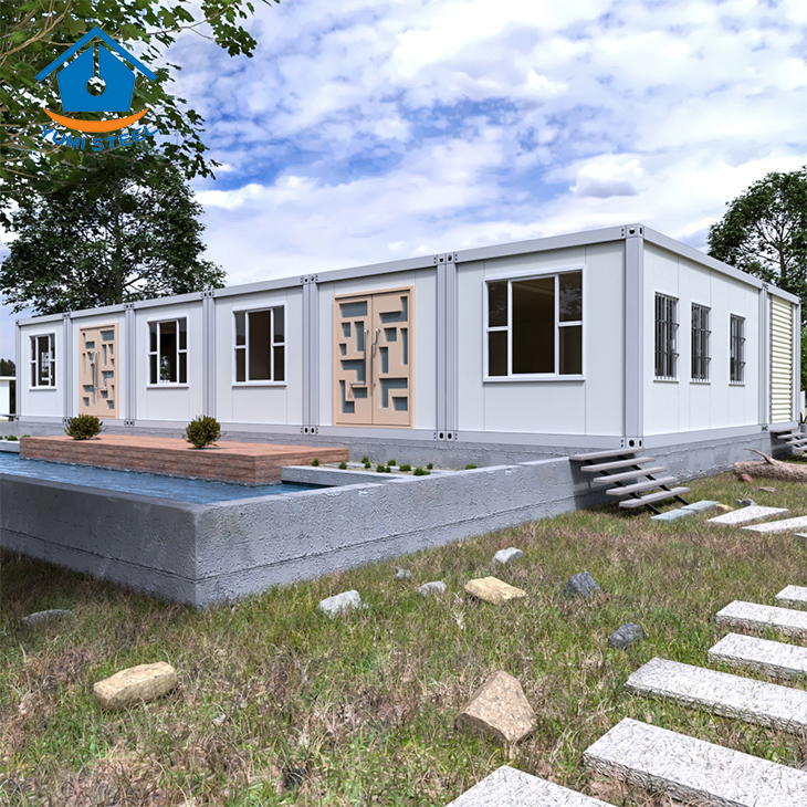 Prefab Quick Assembly /Flat Packed Container House For Sale