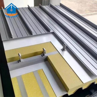 YX65-400/430/500 Standing Seam Lock Al-Mg-Mn Alloy Sheet
