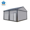 Prefabricated modern luxury flat pack container house