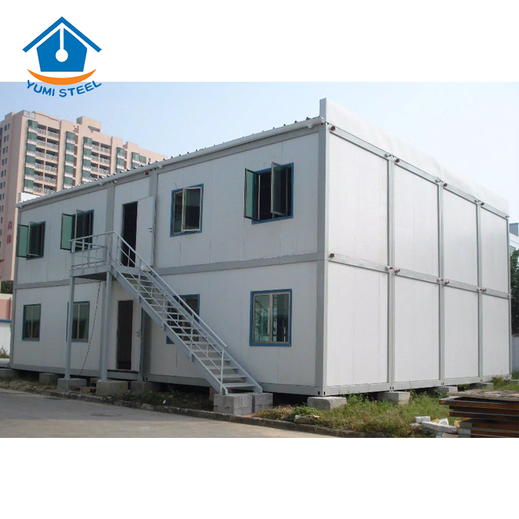 Detachable Movable Prefabricated Container Building for Office