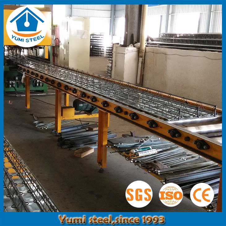 Fireproof Composite Steel Truss Floor Decking Sheets for High Rise Buildings