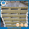 60mm thick acoustic polyurethane sealing rockwool sandwich panels for roof