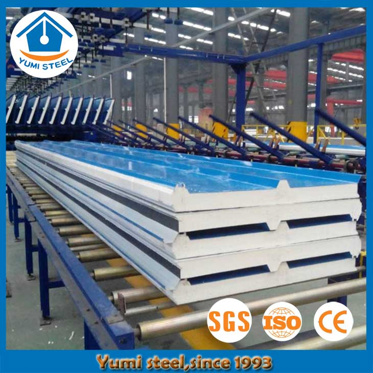 50mm Thermal Polyurethane Foam Roof Sandwich Panels