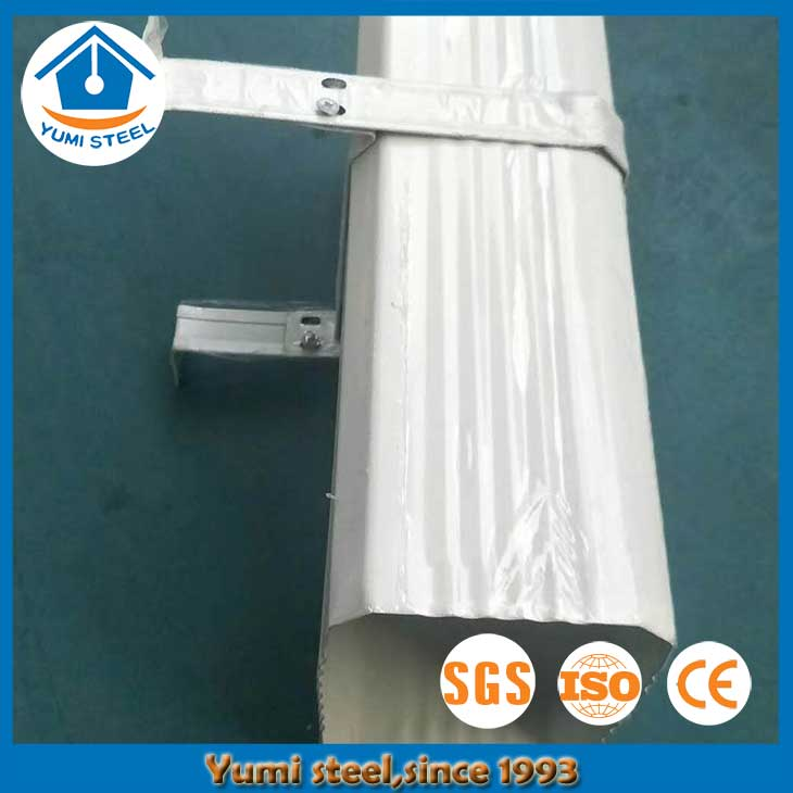 Outdoor Steel Downspout for Steel Buildings
