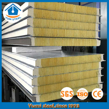 50mm A Grade Fireproof Glass Wool Wall Panels for Prefabricated Buildings